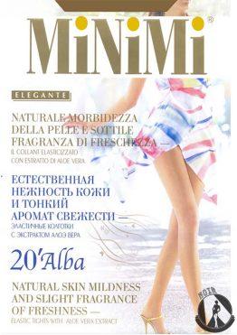 Колготки женские MiNiMi Alba 20