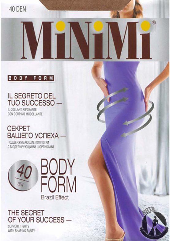 Колготки женские MiNiMi Body Form 40