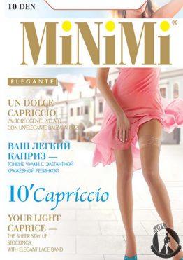 Чулки женские MiNiMi Capriccio 10