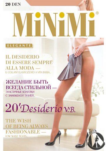 Колготки женские MiNiMi Desiderio 20 VB