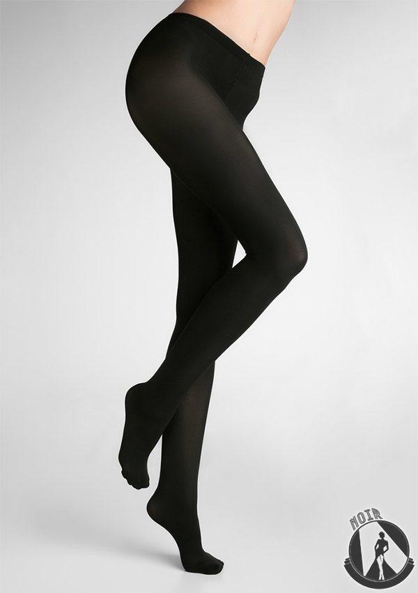 Колготки цвета черного хаки