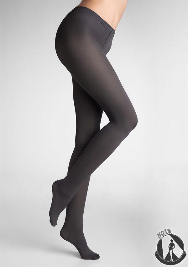 Колготки темно-серого цвета