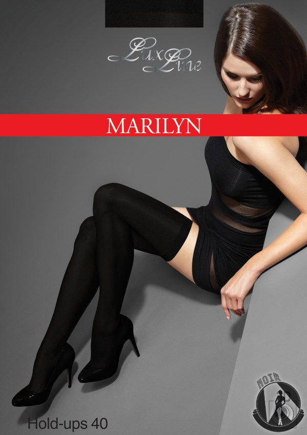 Чулки Marilyn Make-Up Hold-Ups 40