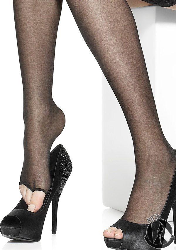 Чулки с открытым носком