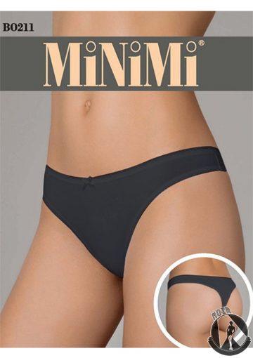 Стринги из хлопка MiNiMi b0211