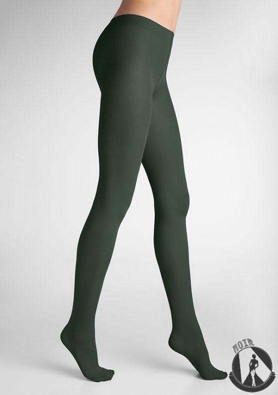 Колготки темно-зеленые