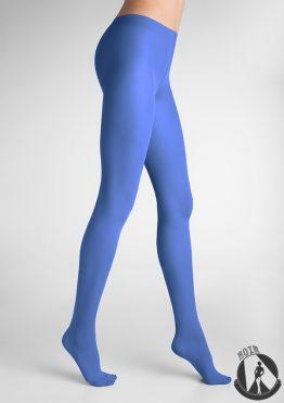 Колготки ярко синие