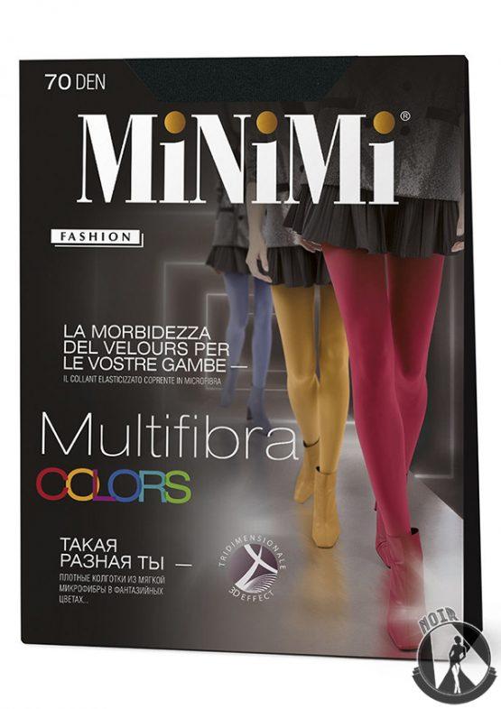 Колготки цветные Minimi Multifibra Colors 70